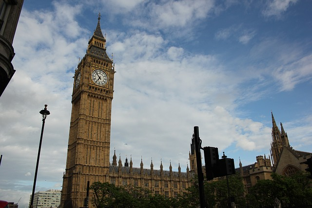 Big Ben, Elizabeth Tower, Westminster Palace, Londres