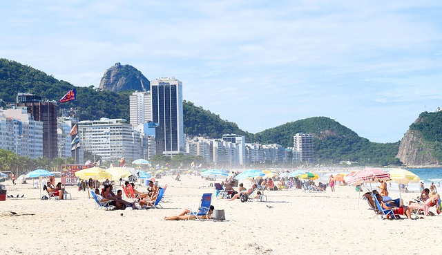 Copacabana, Rio, sandy beaches