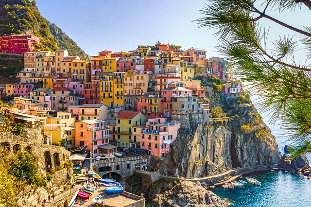 Manarola, Riomaggiore, Liguria, Cinque Terre, Italia
