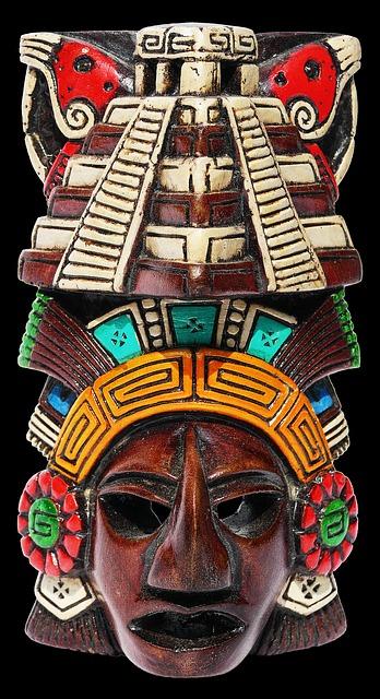 Máscara Maia, México