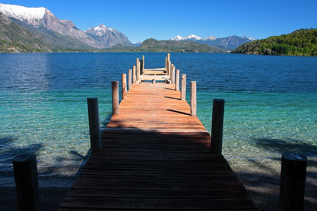 Lac Moreno, Río Negro, Patagonie, Argentine
