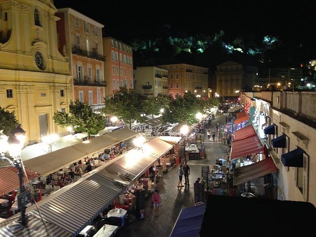 Nice, côte d'Azur, Alpes maritimes