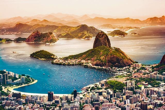 Rio de Janeiro, Brésil, caranaval, plages