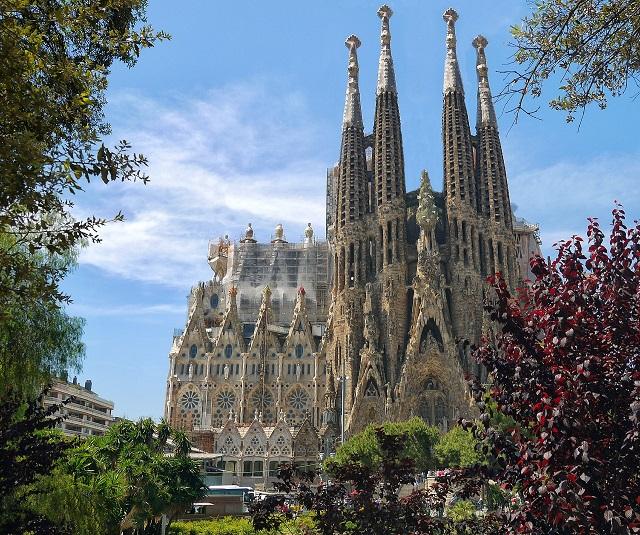 Bacelona, La Sagrada Familia, Antonio Gaudí