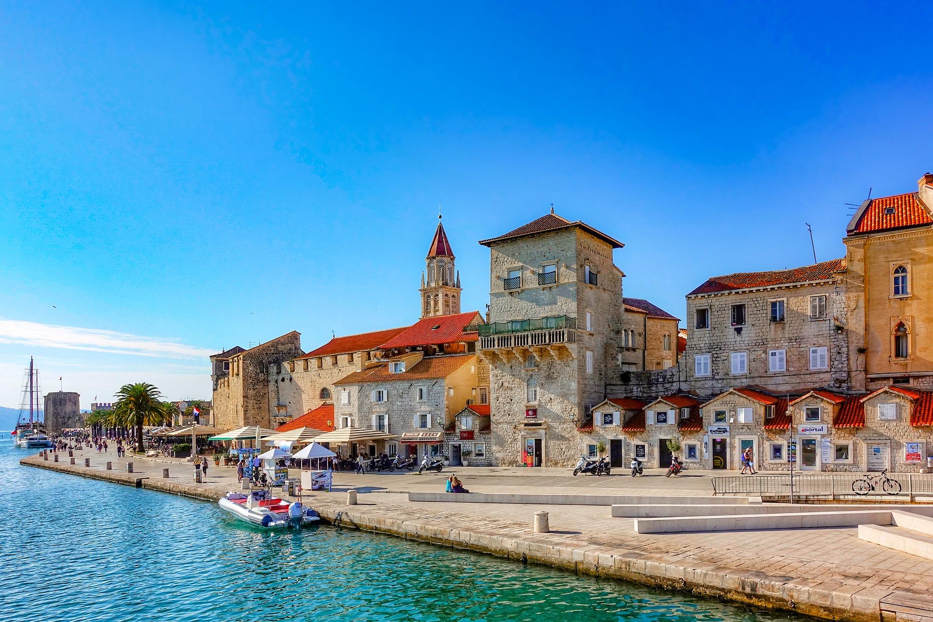 Trogir, Dalmácia na Croácia