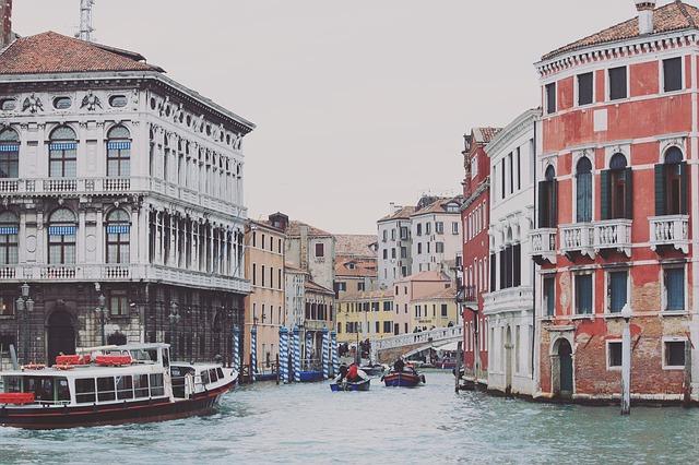 Venise, Vénétie dans le nord de l'Italie